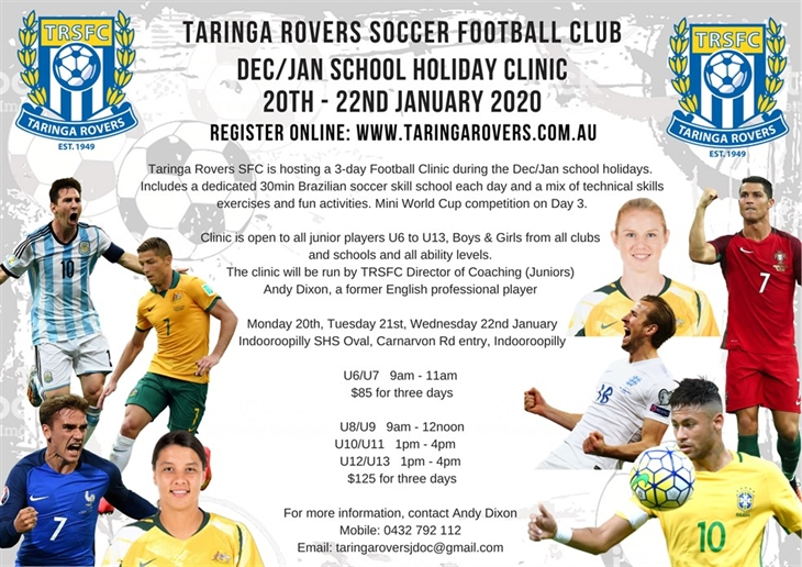2020  Jan  School  Holiday  Clinic